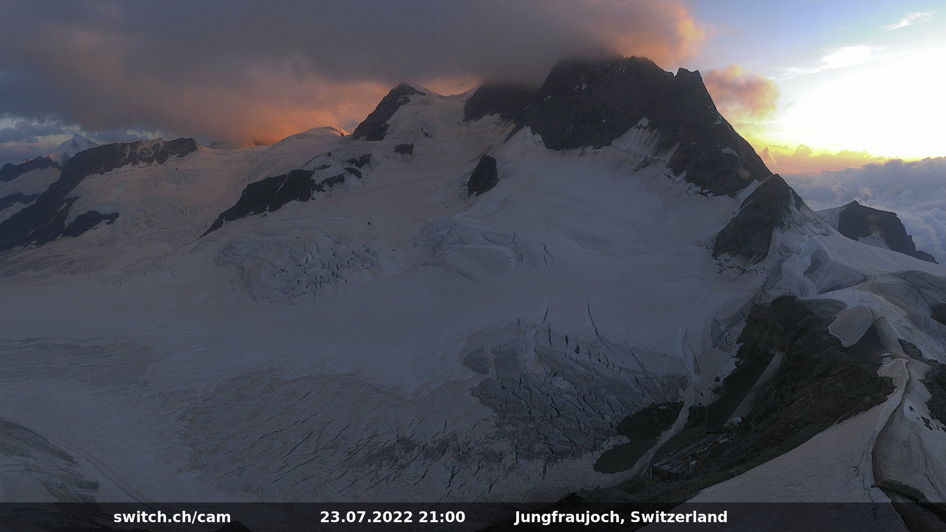 Jungfraujoch Webcam Live
