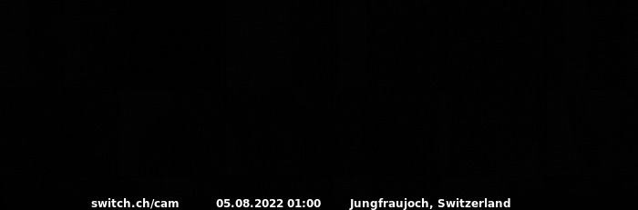 SWITCH Webcam Panoramabild-Jungraufjoch