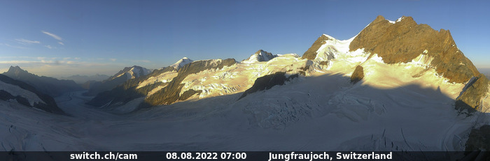 Webcam Forschungsstation - Top of Europe